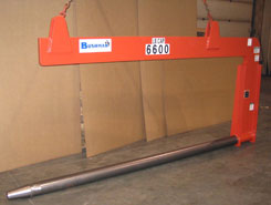 under hook paper roll handling crane c hook, c hook, spring balanced c hook