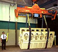 heavy duty sling material handling