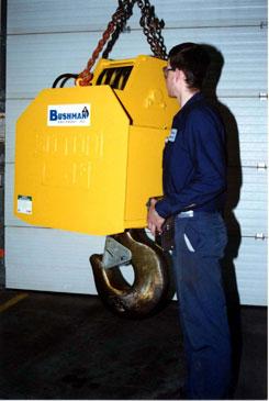 Motorized Rotating Bottom Block or crane block or hook block