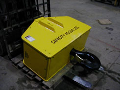 power-rotating hook block or crane block, hook block, crane bottom block, crane blocks, motorized hook blocks