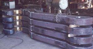 ladle beam, ladle hooks, j hooks for lifting, riveted laminated ladle hooks