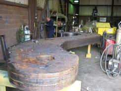 ladle beam, ladle hooks, j hooks for lifting, laminated hook plates