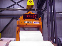 Load Weighing Coil lifters