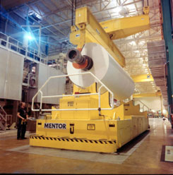 spreader beam used for paper roll handling