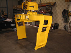 roll lifter for paper roll handling