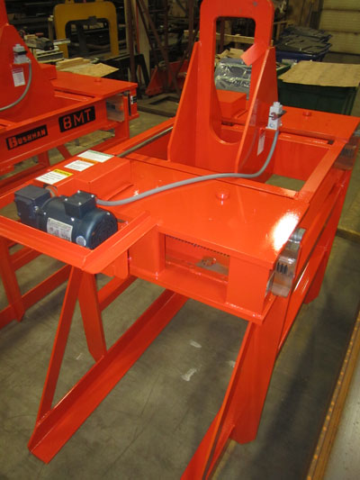 steel sheet lifter, plate lifter, bundle lifter, electric motor driven sheet lifter