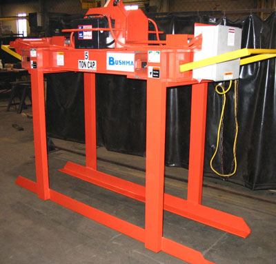 steel sheet lifter, plate lifter, bundle lifter, self contained battery powered sheet lifter
