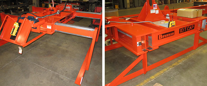 steel sheet lifter, plate lifter, bundle lifter, sheet lifter operating interfaces