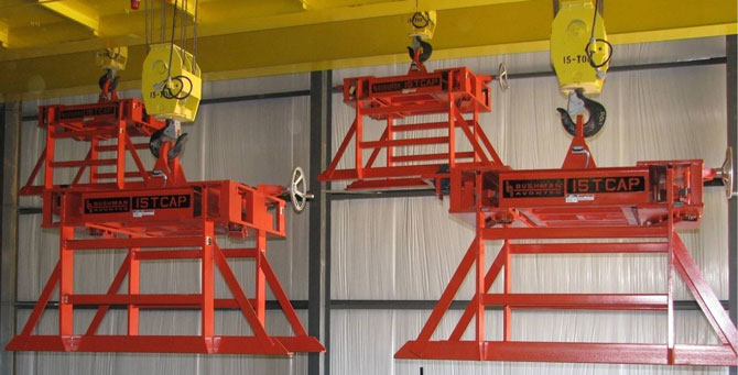 steel sheet lifter, plate lifter, bundle lifter, double trolley sheet lifters