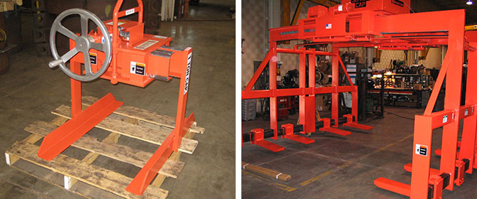 Small and Large Sheet Lifters