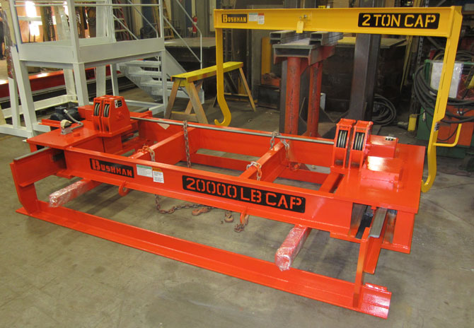 steel sheet lifter, plate lifter, bundle lifter, directly reeved sheet lifter