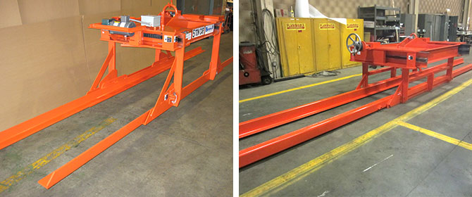 steel sheet lifter, plate lifter, bundle lifter, pin on sheet lifter extension angles