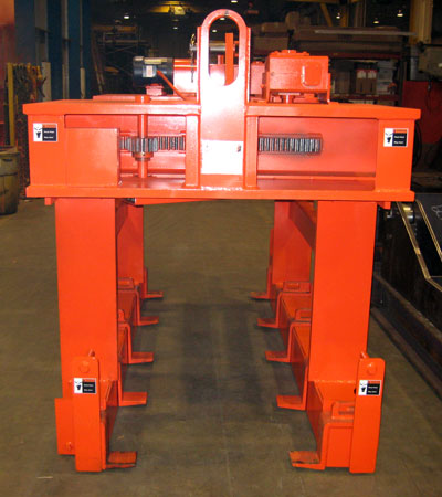 steel sheet lifter, plate lifter, bundle lifter, sheet lifter adjustable forks