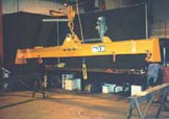 spreader beam, lifting beam, magnet beam, lifting device, levelrite lift beam
