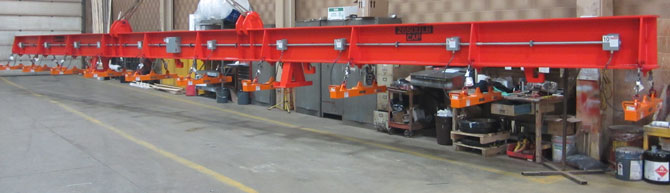 spreader beam, lifting beam, magnet beam, lifting device