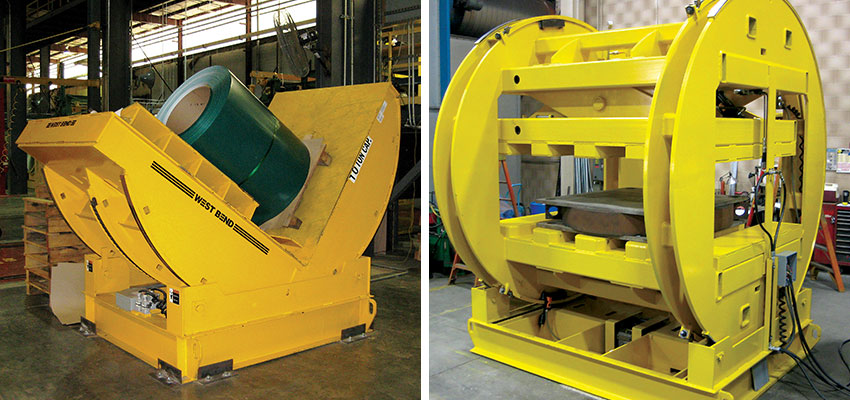 coil tipper c-hook, floor based material handling equipment, Automation equipment, Upender, hydraulic upender, mechanical upender, coil upender, inverters, barrel inverter, c-frame inverter, coil carts, coil transfer car, die handling equipment, die/mold handling, mold carts, mold handling equipment, hydraulic scissors lifts, hydraulic lift table, industrial lift table, lift table, motorcycle lift table, scissors lift, heavy-duty material handling