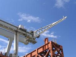 jib cranes, jib crane attachments, motorized jib crane, custom engineered super jib crane