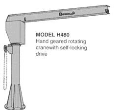 jib cranes, jib crane attachments, motorized jib crane, bushman equipment inc can design a jib crane tong to handle your most demanding applications