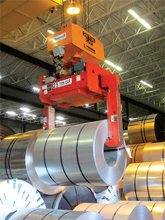 custom engineered material handling solutions, below the hook