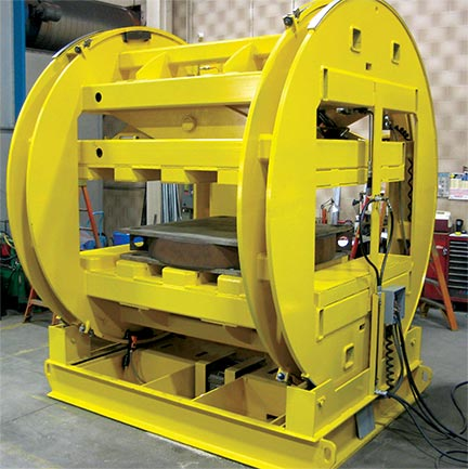 custom engineered material handling solutions, floor based equipment