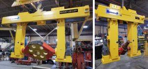 motorized rotating axis grabs mining equipment
