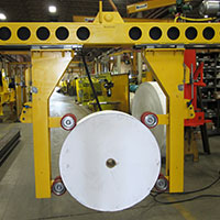 bushman equipment rolls lifting solution into tissue plant, bushman equipment news