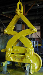Single Rim Coil Tong lifting device - After