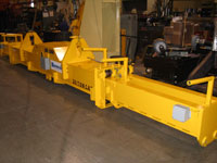 Telescoping Magnet Beam lifting device after ReNEW
